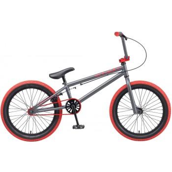 """Велосипед Tech Team BMX Mack 20"""" серый"""