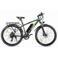 Велогибрид Eltreco XT 850 new (серо-зеленый)